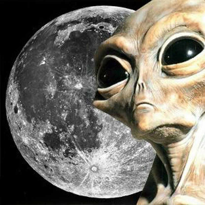Уфологи считают Луну кораблем инопланетян