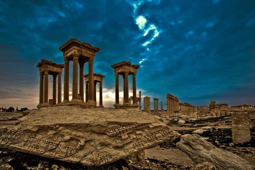 Картинки по запросу пальмира разрушения